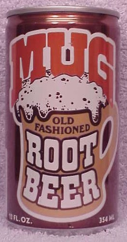 1958 SS 12 FLUID OZ On Seam Mug Old Fashioned Root Beer Belfast Bottom Slogan